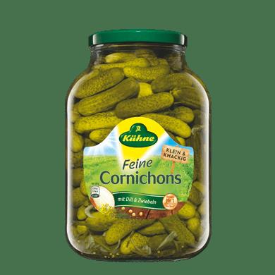 Feine Cornichons | Kühne - mit Liebe gemacht!