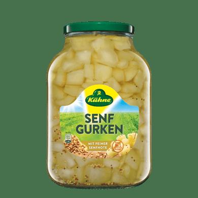 Senfgurken | Kühne - mit Liebe gemacht!