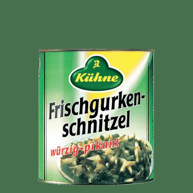 Gurkenschnitzel oK | Kühne - mit Liebe gemacht!