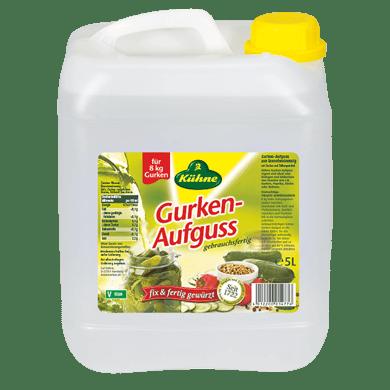 Gurken-Aufguss, gebrauchsfertig 1,7% Säure | Kühne - mit Liebe gemacht!
