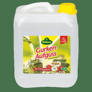 Gurken-Aufguss, 3-fach-konzentriert 5% Säure | Kühne - mit Liebe gemacht!