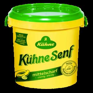 Senf würzig - pikant | Kühne - mit Liebe gemacht!