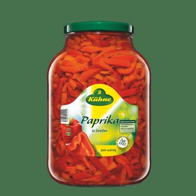 Paprika Streifen | Kühne - mit Liebe gemacht!
