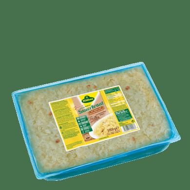 Sauerkraut fix&fertig mit Schinken u. Schmalz | Kühne - mit Liebe gemacht!