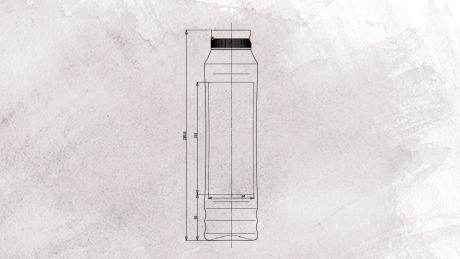 Kühne Food Partners - 875ml Squeeze Flasche Kunststoff